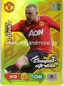 Adrenalyn XL Manchester United 11/12 - #121 Wayne Rooney - Ultimate