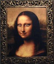 "Haunted Spooky Mona Lisa Photo ""Eyes Follow You"""