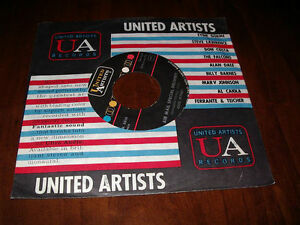 united Artists Air Mail Special Delivery 45 giri lp