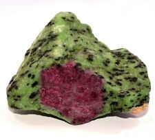 877.75 Ct Natural Ruby in Zoisite Specimen Facet Rough Top Quality AGSLCertified