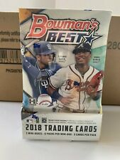 2018 Bowman's Best Baseball Hobby Boxes - 8 Boxes