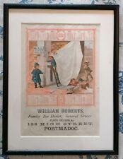 More details for antique advertising - 1882 calendar - tea dealer - framed and glazed (d)