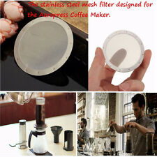 Reusable Fine Metal Coffee Filter Stainless Steel Mesh For AeroPress Coffeemaker