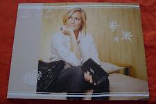 Helene Fischer...Poster...Original Papp-Aufsteller ( 3 Kugeln+3 Schnee-Sterne )