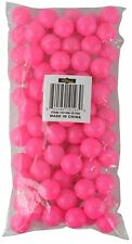 100 Pack Mini Beer Pong Ping Pong Table Tennis Round Balls Party Needs 19mm New