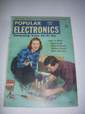 POPULAR ELECTRONICS Magazine, APRIL, 1957, ELECTRONIC HYPNOSIS, HI-FI KIT!