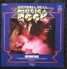 GENESIS - HISTORIA DE LA MUSICA ROCK - VINYL ALBUM - SPAIN ISSUE - UNPLAYED