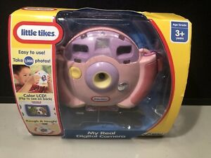 Brand new Little Tikes My Real Digital Camera 1000 Pictures Pink Sealed