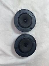 KLH 802 vintage pair speaker Tweeters Midrange