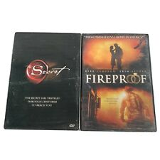 NEW Fireproof & The Secret DVDs- New Sealed Spiritual