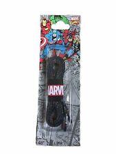 Marvel Lacets paire de lacets avec bande dessinée personnage Avengers Design