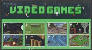 2020  Video Games + Mini Sheet Presentation Pack 581 - Ref:5623