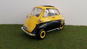 BMW ISETTA 250 jaune et noir 1/18 REVELL Edition limitée voiture miniature coll.