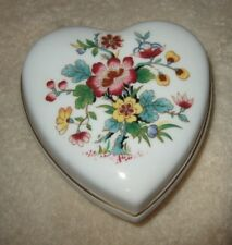 Coalport Trinket Box Heart Shaped Box Coalport Ming Tree Box Bone China England