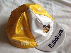 RABOBANK - COLNAGO - AGU - CYCLING AUTUMN/SPRING HAT RETRO - USED CONDITION
