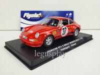 Slot car Scalextric Flyslot Ref. 036107 Porsche 911 S Rallye MonteCarlo 1969