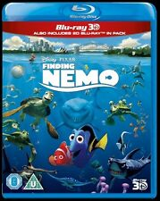 FINDING NEMO 3D*****BLU-RAY*****REGION B*****NEW & SEALED