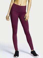 Victoria Secret Sport Knockout Tight Yoga Leggings Workout Pants Berry S NEW
