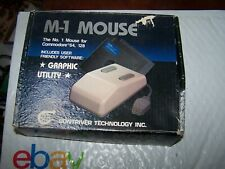 M-1 Mouse for Commodore 64, 128 in original box - Contriver Technology, Inc.