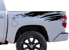 Mud Splash Decal Sticker Vinyl Body Graphics for rear bed TRUCKs Tundra, Tacoma