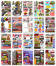 20x Motocross Race Rossi 46 Sticker Bike Arai Helmet Moto-GP Sponsor Logo Decal