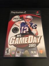 Playstation 2 NFL Game Day 2003 ( Complete )
