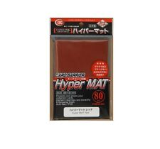 KMC Hyper Mat Red Card Sleeves 1 Pack 80pcs from Japan