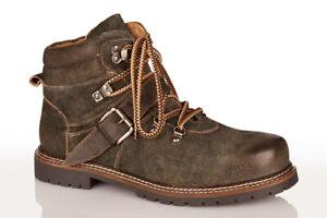 S/&W Trachtenschuhe Haferlschuhe Boots Jarrek 550-H Ziegenleder Braun