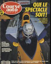 COURSE AUTO n°8 11/06/1991 RALLYE ACROPOLE F3000 JEREZ PORSCHE 911 CARRERA RS