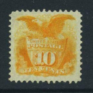 US Sc127 1875 10c Mint LH Cat $1600