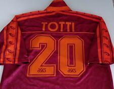 MAGLIA ROMA 1995/1996 TOTTI MAGLIA CALCIO AS ROMA SHIRT TOTTI JERSEY ROMA CALCIO