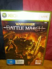 Warhammer: Battle March - Microsoft Xbox 360 PAL - Includes Manual