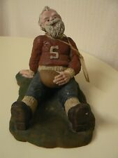 Sarah's Attic September Santa of the Month Touchdown Football Figurine Limited