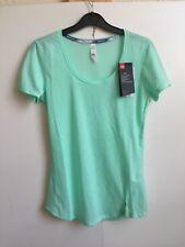 Under Armour Women's UA Threadborne Streaker T Shirt - Large - Light Blue - New