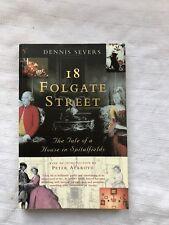 18 Colgate Street Dennis Severs 1st PB Edition