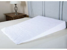 Luxury Foam Sleep Bed Wedge with Soft Quilted Cotton Blend Cover Made in Britain