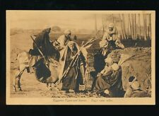 Egypt Egyptian Types and Scenes Sugar Cane Seller c1900/20s? PPC
