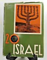 20 Israel Israel's First 20 Years A Pictorial Review - Hebrew, French & English