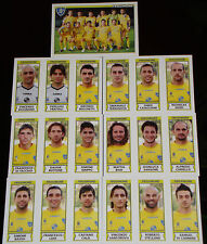 FIGURINE CALCIATORI PANINI 2010-11 SQUADRA FROSINONE CALCIO FOOTBALL ALBUM
