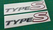 Civic Type S GT Côté Jupe decals stickers 200 mm 1.6 1.8 CDTI I-Vtec Mk 8