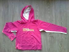 Sweat à capuche rose WILSON taille 11-12 ans