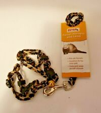 Petco Ferret Harness & Lead Leash-Cheetah Style-New