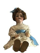 "New ListingAntique German Doll Large 30"" Walkure Toddler Bisque Excellent Condition!"