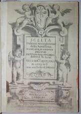 Seicentina- Scelta d'alcuni miracoli della Santissima Nunziata di Firenze 1636