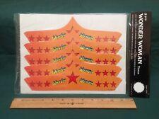 Vtg 1977, Wonder Woman 5 Piece Cardboard TIARAS D.C. Comics NEW Sealed Package