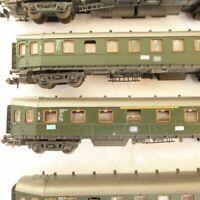 Roco N Konvolut 5 Stück Hechtwagen der DB Epoche 3 teilweise gealtert, gebraucht