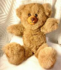 Handmade Peruvian 100% Baby Alpaca Fur Teddy Bear (14 inches) Brown