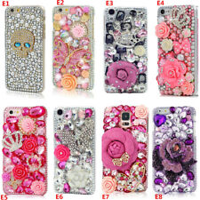 Custom-made Glitter Jewelled Bling Crystal Diamonds Soft Phone back Case Cover 1