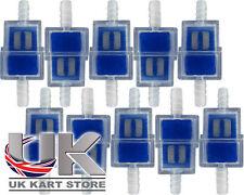 Inline Petrol / Fuel Filter x 10 Rotax Max Honda TKM 100cc Cadet UK KART STORE