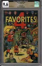 Four Favorites #22 CGC 9.6 Promise Collection Pedigree (OW-W)